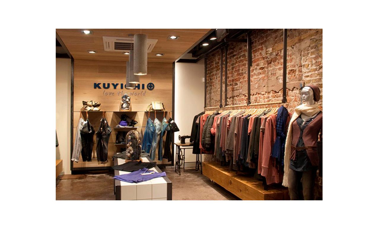 Custom designed retail clothing space