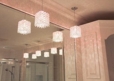 Beautiful glass jeweled light fixtures
