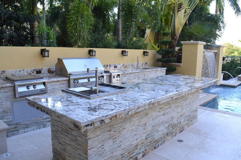Best Tile For Outdoor Kitchen Countertops Designs