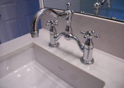Classic chrome faucet