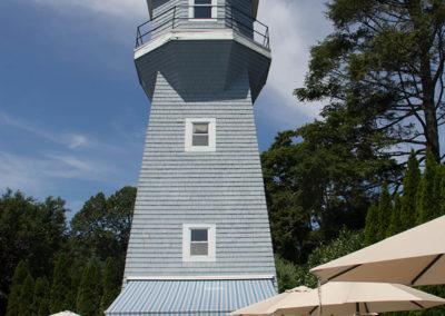 Beautiful restored water tower pool house