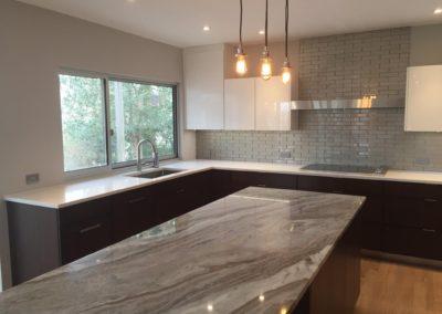 Gorgeous Manhattan style kitchen design with industrial accents