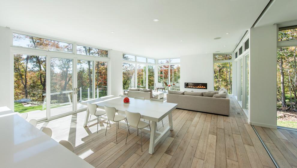 Large Contemporary Sunroom Extension Evo Design Center