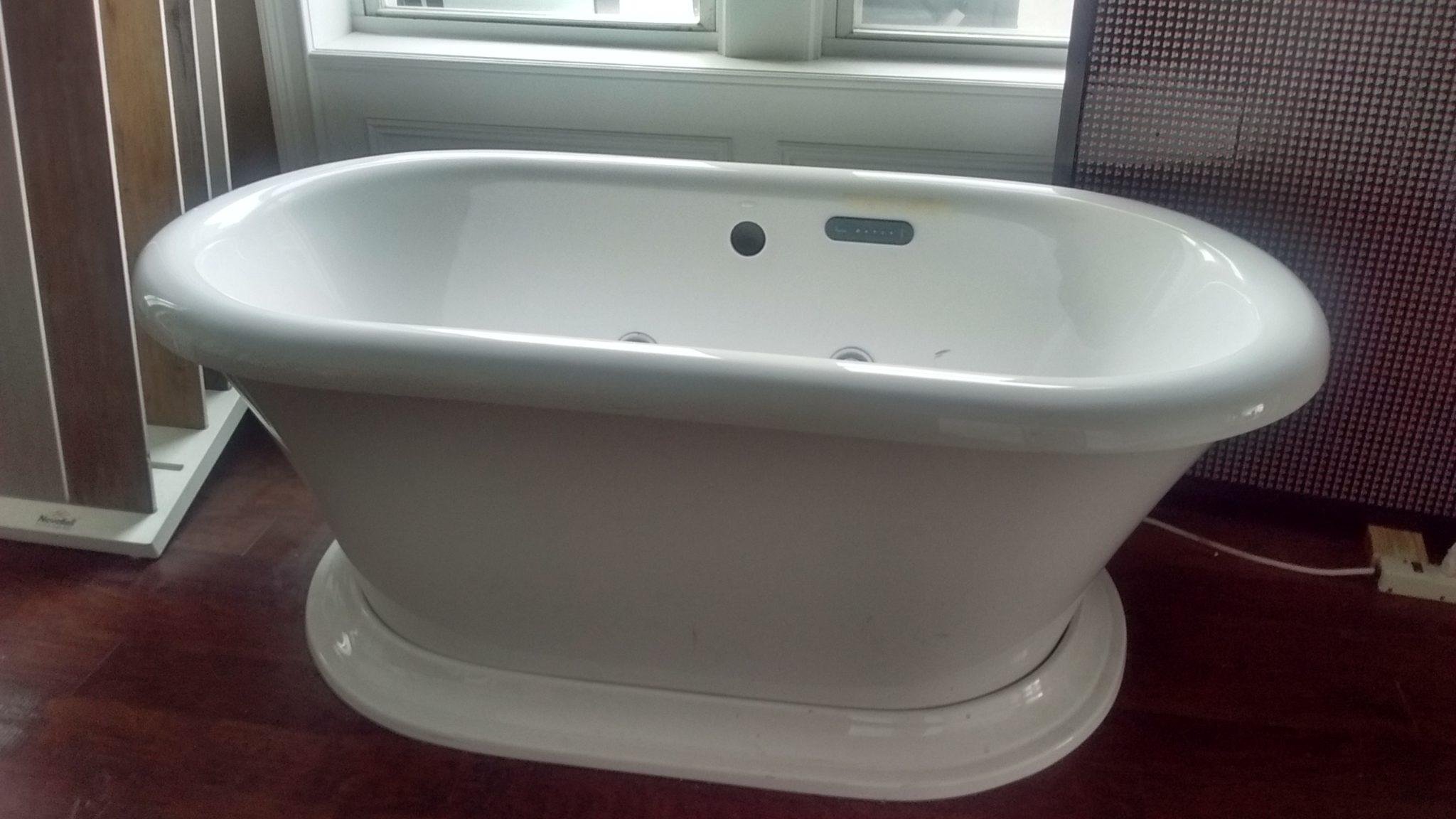 Porcher Archive white soaking tub